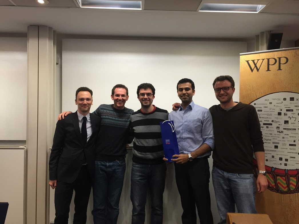 Winner of the London Business School Digital Marketing Competition 2015