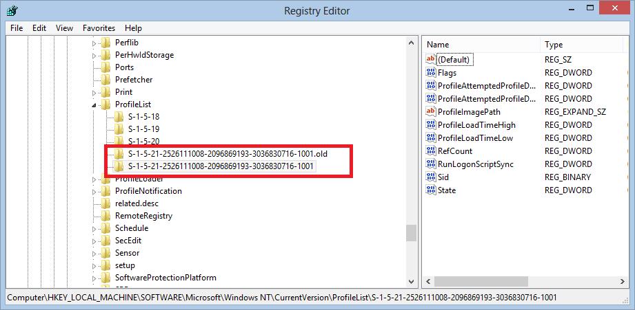 Registry fix 2