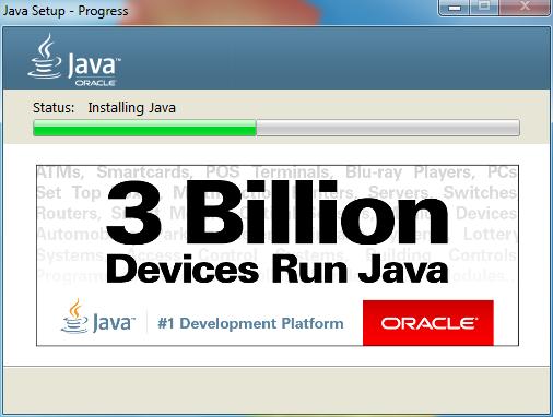 Java Setup installing Java