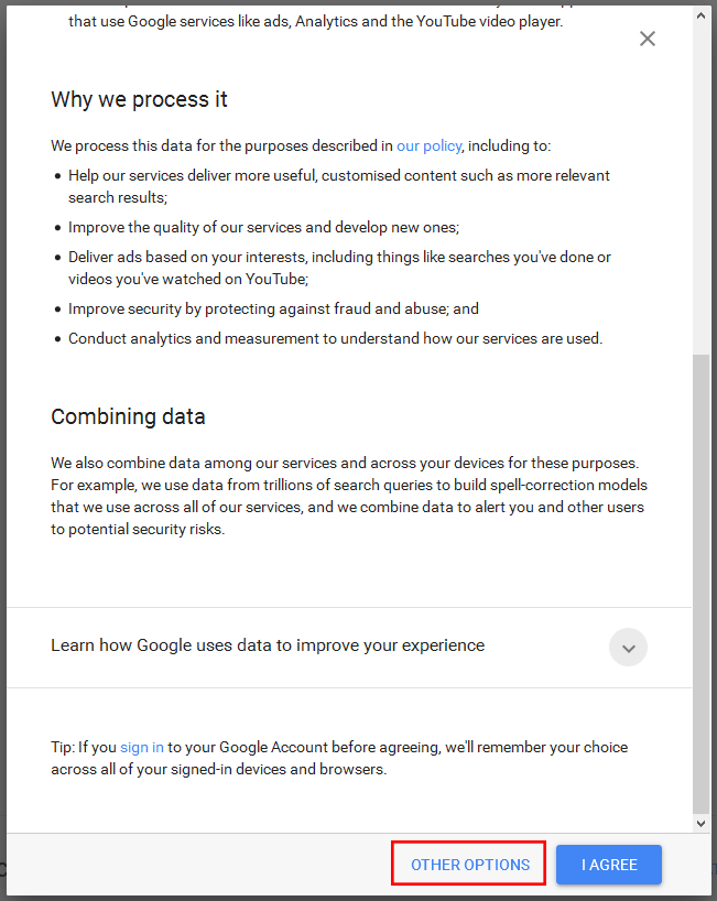 Google Privacy step 03