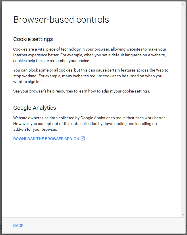 Google Privacy step 12