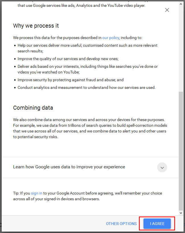 Google Privacy step 14