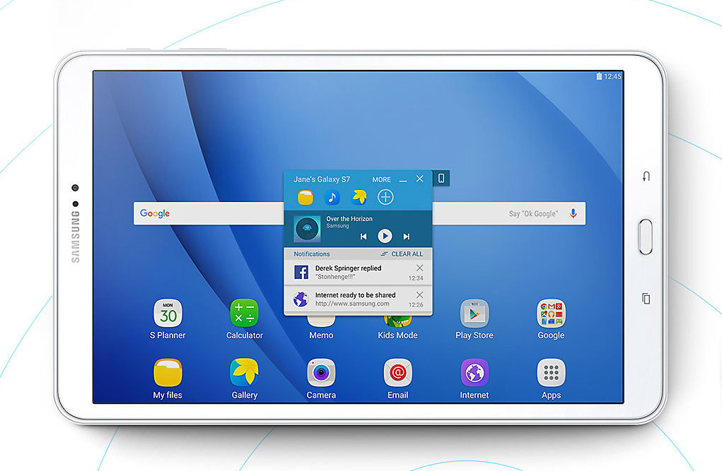 """Samsung Galaxy Tab A 2016 10.1"""""""