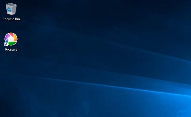 install Picasa - launch Picasa