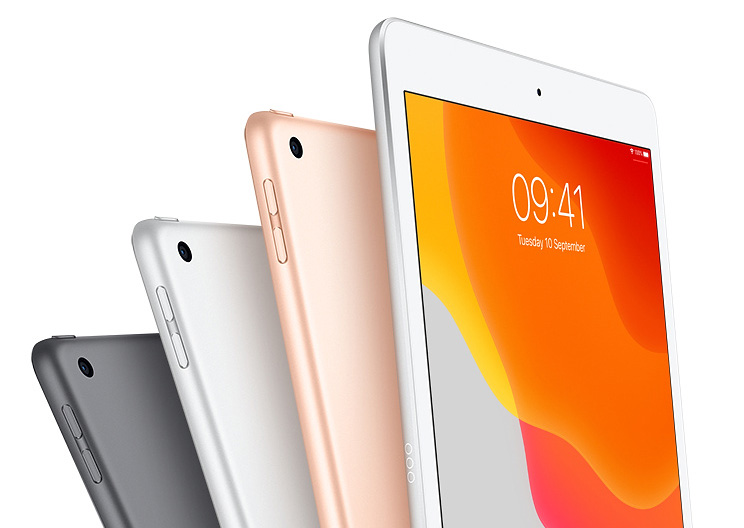 Apple iPad 10.2 in 3 colours
