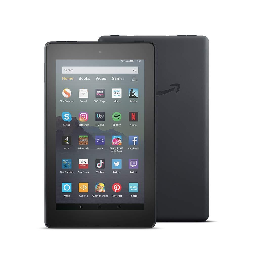 "Amazon Fire 7 Tablet with Alexa, 7"" Display, 8 GB, Black"